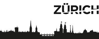 Authentische Silhouette Skylines Von Schweizer Städten